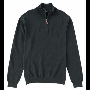 NEW Roundtree & Yorke quarter zip pullover sweater